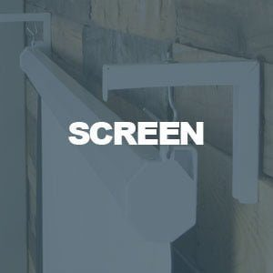 Projector Screen & Bracket