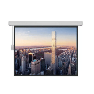Brite Large Motorized Screen MR-305406-SL