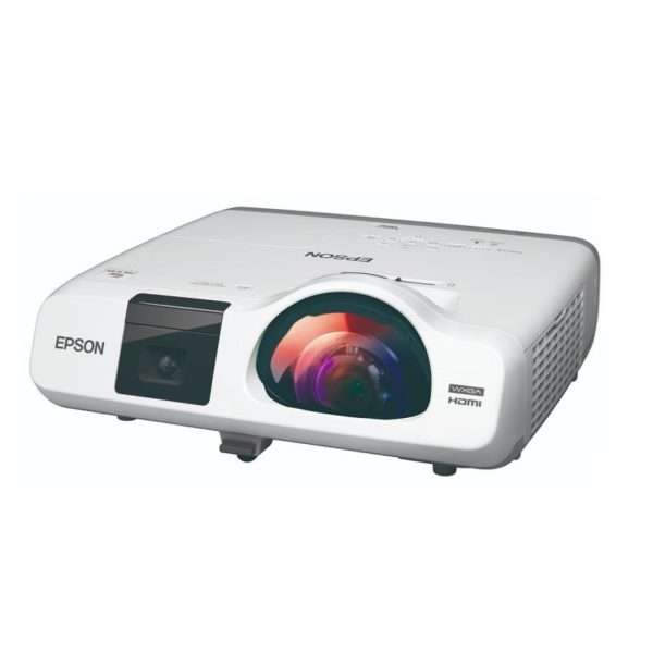 Epson EB-536Wi Ultra Short Throw Interactive Projector Side