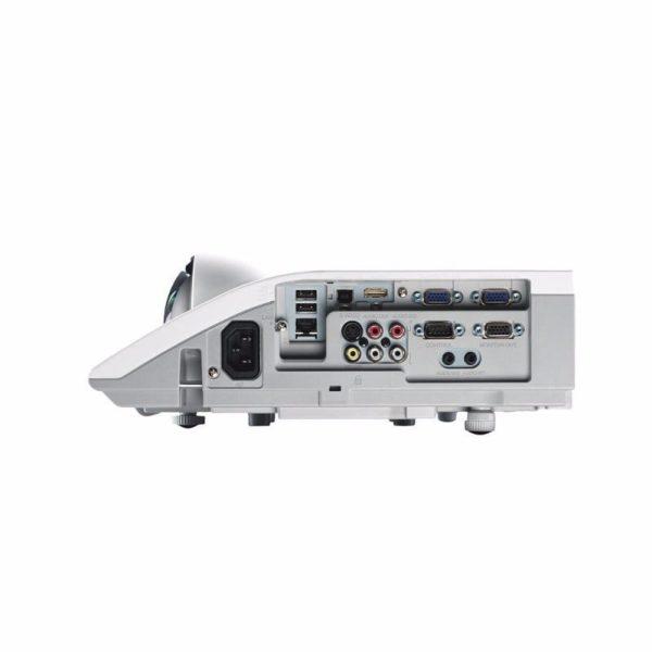 Hitachi CP-CX301WN Super Short Throw Projector Ports