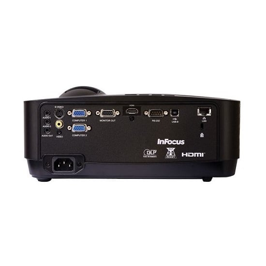 InFocus IN128HDX FHD Projector Ports