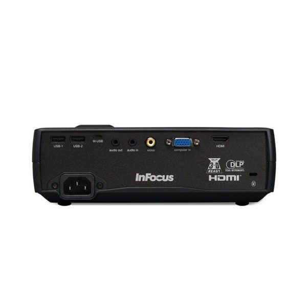 Infocus IN1116 Portable Projector Ports