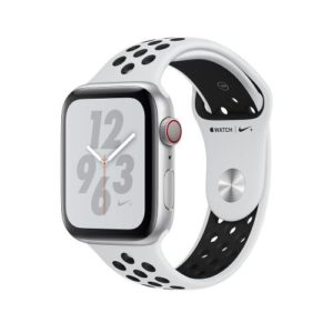 APPLE Watch Series 4 Nike+ 40mm Silver Aluminum Case with Pure Platinum Black Nike Sport Band