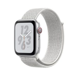APPLE Watch Series 4 Nike+ 40mm Silver Aluminum Case with Summit White Nike Sport Loop