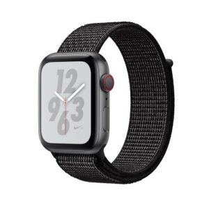 APPLE Watch Series 4 Nike+ 40mm Space Gray Aluminum Case with Black Nike Sport Loop