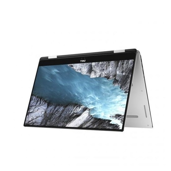 Dell XPS 15 Touch 2 in 1 9575 i7 8705G Silver Tent