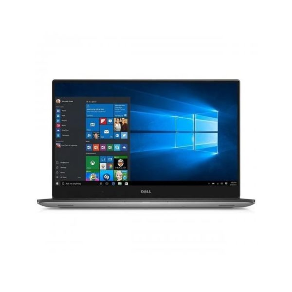 Dell XPS 15 Touch 9570 i7 8750H Silver Front