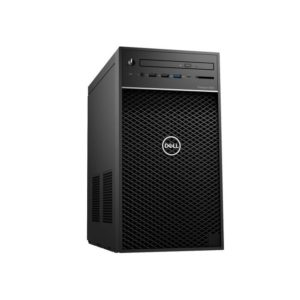 Dell Precision 3630MT Xeon E-2147G 16GB 2TB HDD Side