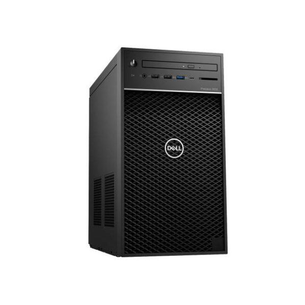 Dell Precision 3630MT Xeon E-2147G 16GB 2TB HDD Side