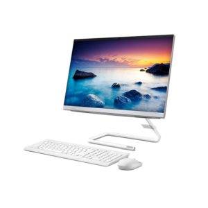 Lenovo AiO 340 F0E600-8AiD White Side