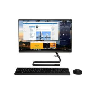 Lenovo All In One 340 F0EB00-6FiD Black Touch Front