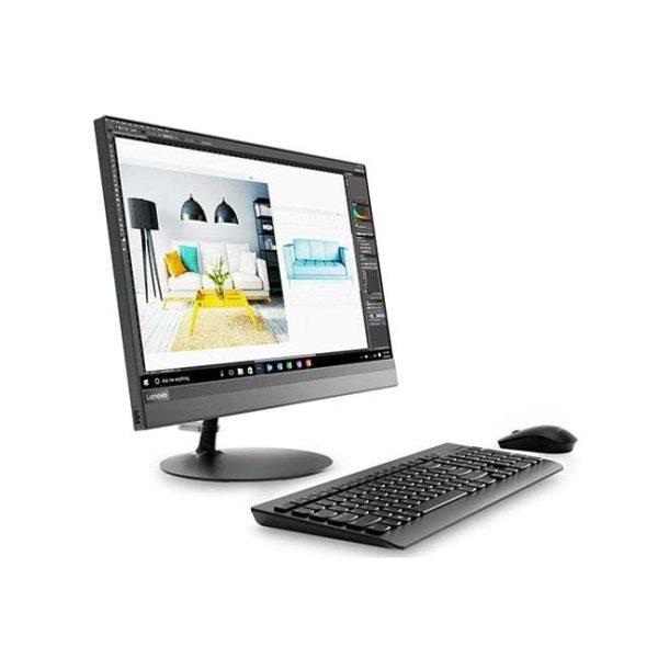 Lenovo All In One 520-22iKU F0D500-0BiD Black Side