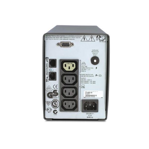 APC Back-UPS SC420I Rear