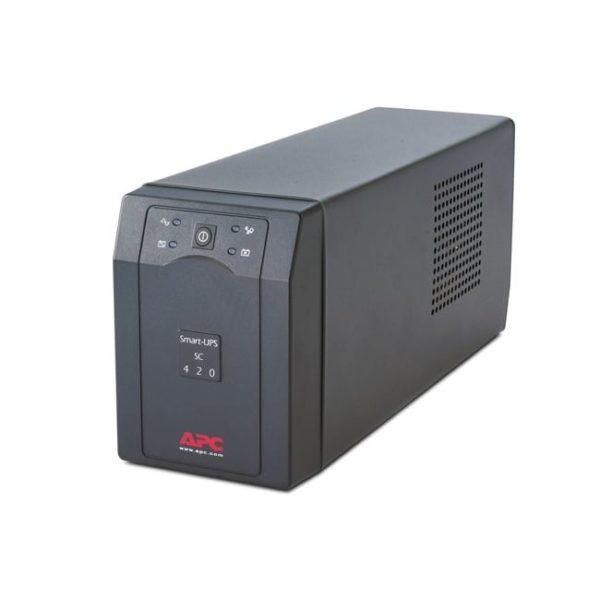 APC Back-UPS SC420I Side