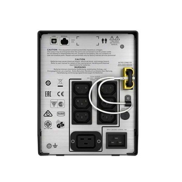 APC SMC2000I Smart-UPS Rear