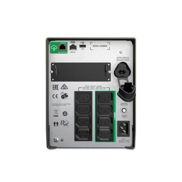 APC SMT1000IC Smart-UPS Rear
