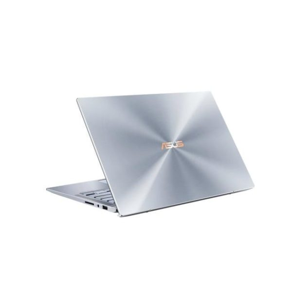 Asus Zenbook UM431DA-AM501T Silver Blue Rear