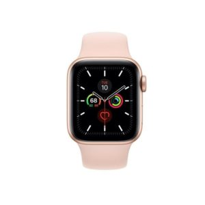 Apple Watch S5 40MM Gold with Pink Sand Sport Band MWV72ID/A Front