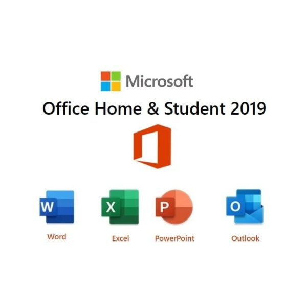 Microsoft Office Home & Student 2019 Medialess