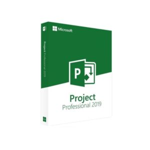 Microsoft Project Professional 2019 English DVD H30-05741