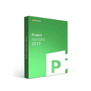 Microsoft Project Standard 2019 English EM DVD 076-05772