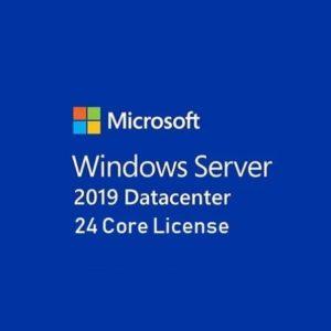 Windows Server Datacenter 2019 64 Bit English OEM DVD 24 Core
