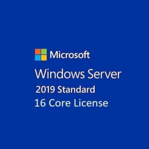 Windows Server Standard 2019 16 Core License