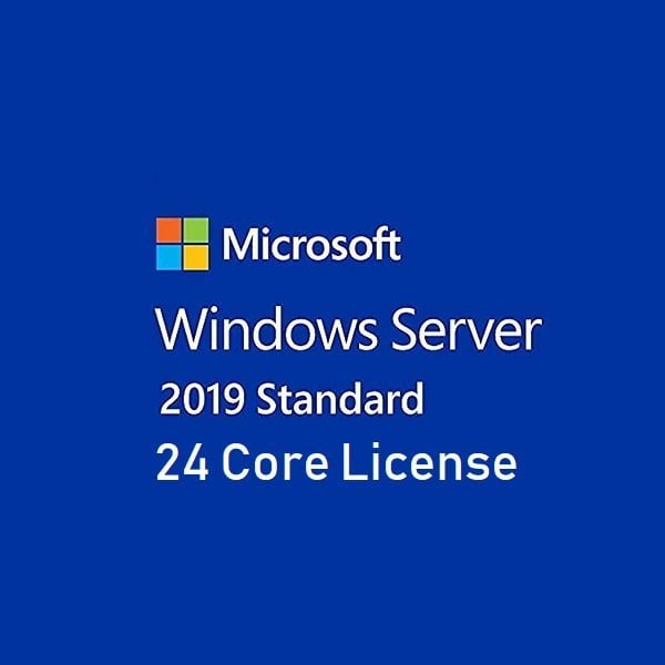 Windows Server Standard 2019 24 Core License