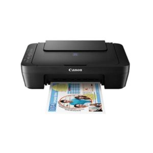 Canon Pixma E470 Multifunction Inkjet Printer Front Other