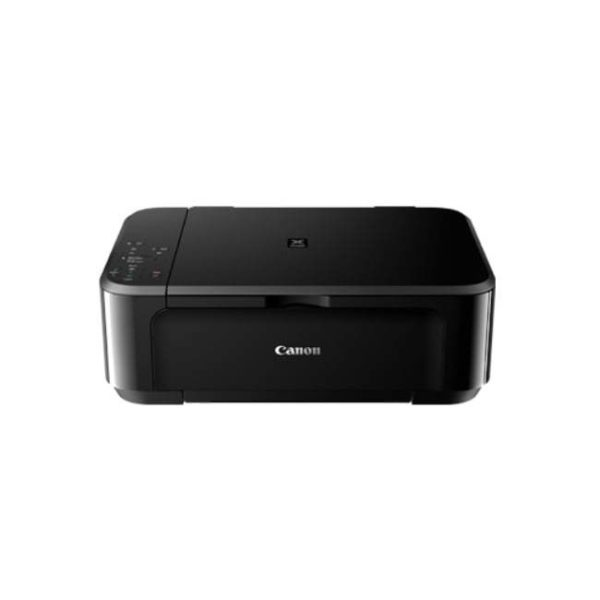 Canon Pixma MG3670 Black Multifunction Inkjet Printer Front