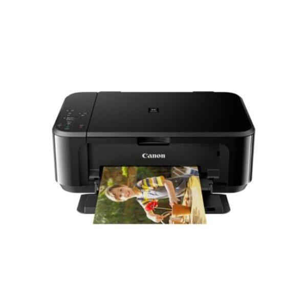 Canon Pixma MG3670 Black Multifunction Inkjet Printer Front Other