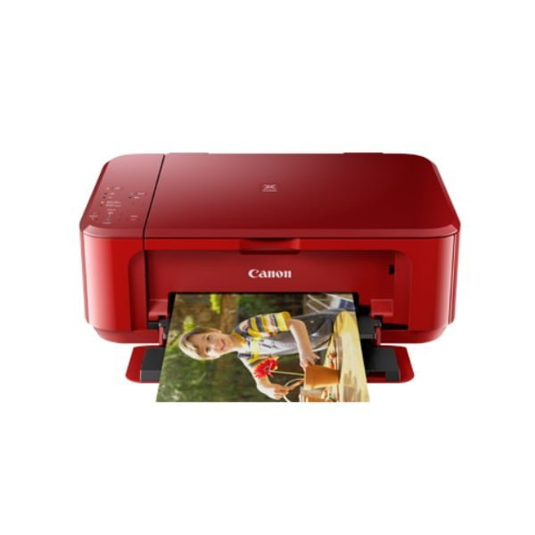 Canon Pixma MG3670 Red Multifunction Inkjet Printer Front