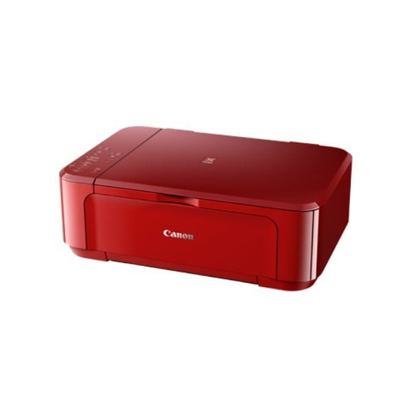 Canon Pixma MG3670 Red Multifunction Inkjet Printer Side