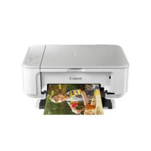 Canon Pixma MG3670 White Multifunction Inkjet Printer Front Other