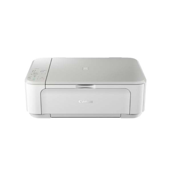 Canon Pixma MG3670 White Multifunction Inkjet Printer Front