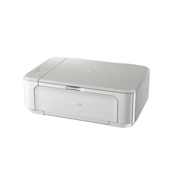 Canon Pixma MG3670 White Multifunction Inkjet Printer Side