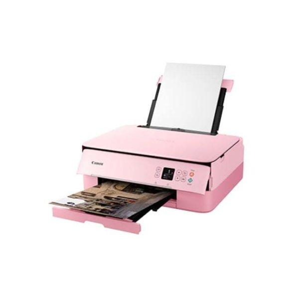 Canon Pixma TS5370 Multifunction Inkjet Printer Pink Side
