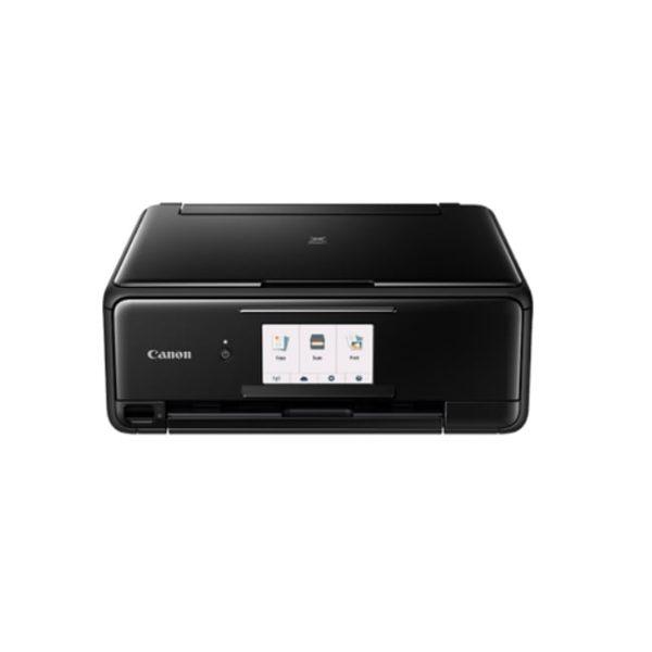 Canon Pixma TS8170 Black Multifunction Printer Front