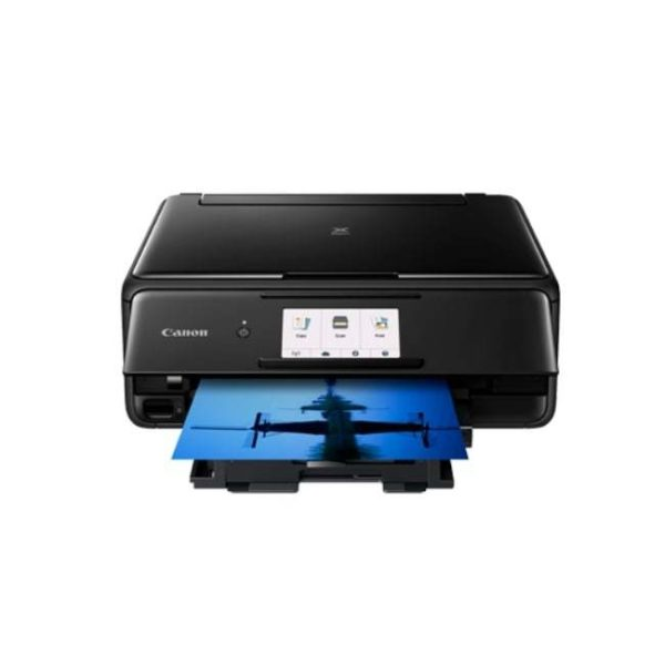 Canon Pixma TS8170 Black Multifunction Printer Other Front