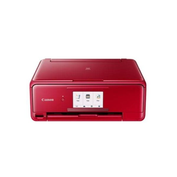 Canon Pixma TS8170 Red Multifunction Printer Front