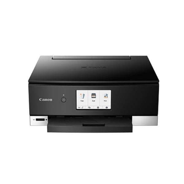 Canon Pixma TS8370 Black Multifunction Printer Fron