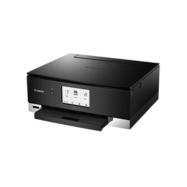 Canon Pixma TS8370 Black Multifunction Printer Side
