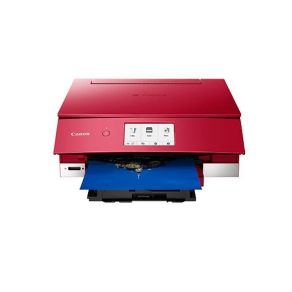 Canon Pixma TS8370 Red Multifunction Printer Front Other