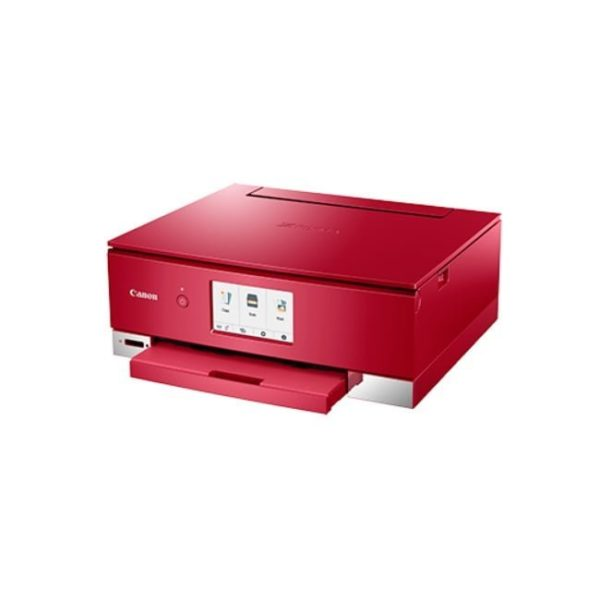 Canon Pixma TS8370 Red Multifunction Printer Side