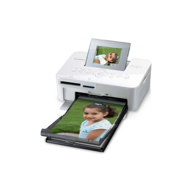 Canon Selphy Compact Photo Printer CP1000 Side Print