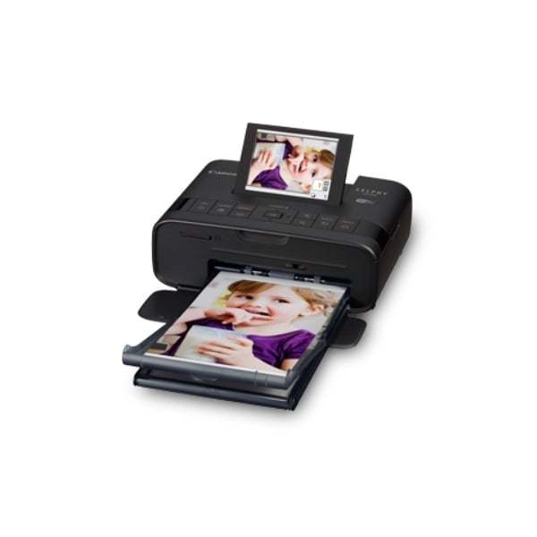 Canon Selphy Compact Photo Printer CP1300 Black Side