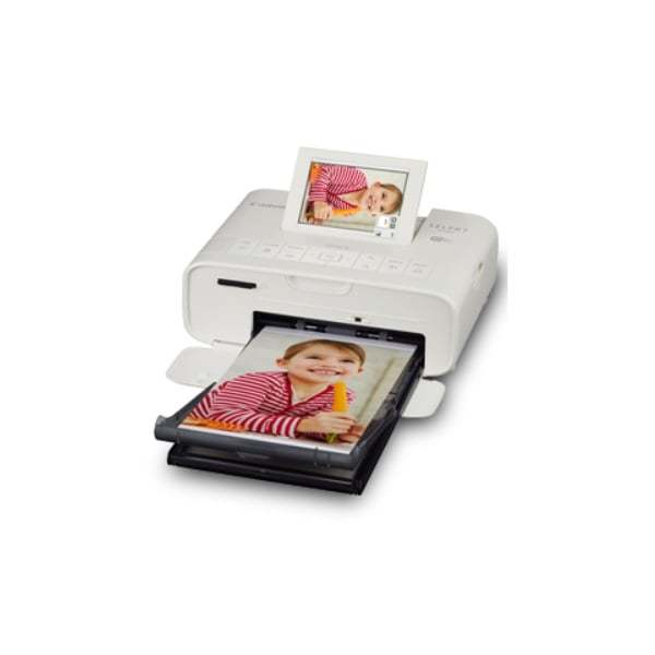 Canon Selphy Compact Photo Printer CP1300 White Side