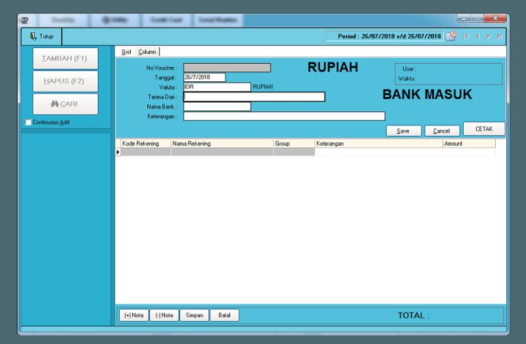 Bank Masuk Slide