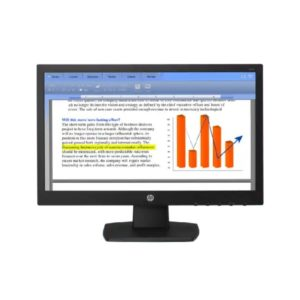 HP V194 18.5-inch Monitor Front
