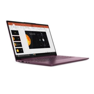 Lenovo Yoga Slim 7 82A100-55iD Orchid Side